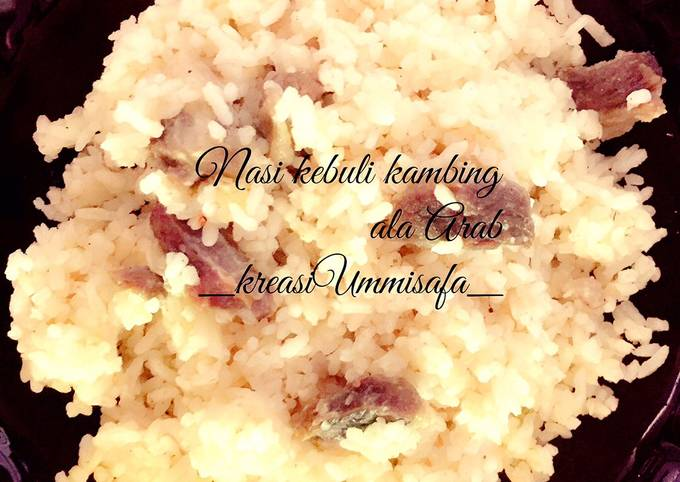 Resep Nasi kebuli (nasi Khas Arab) yang Bisa Manjain Lidah
