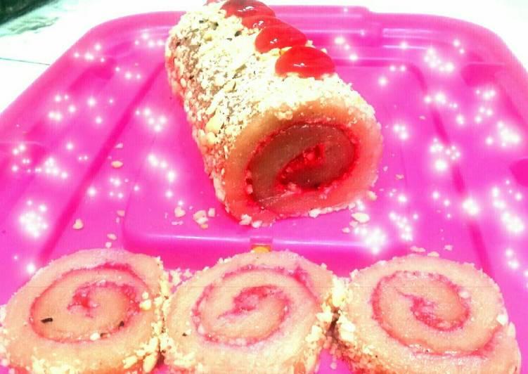 Moci Roll Strawbery versi Gluteen Free #Maree