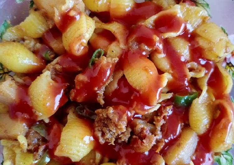 Steps to Make Most Popular Beef mince pasta😋