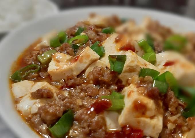 Chinese Mapo Tofu (Sichuan Cuisine)