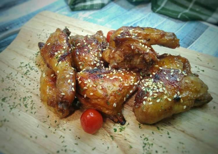 Ayam Panggang Wijen - cookandrecipe.com