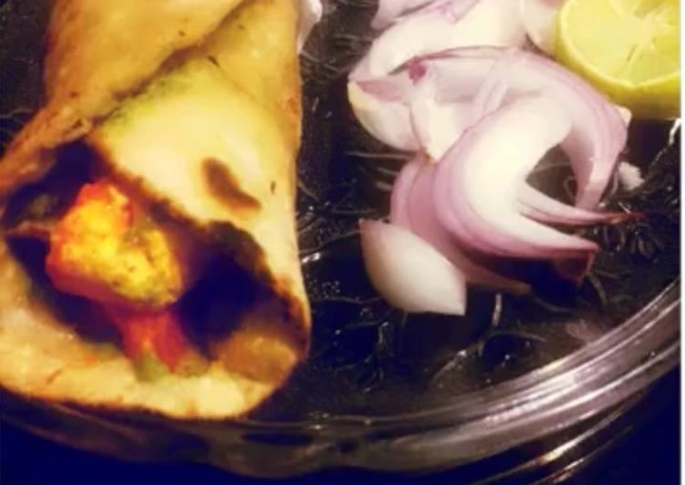 30 Minute Recipe of Speedy Tandoori Paneer Wrap