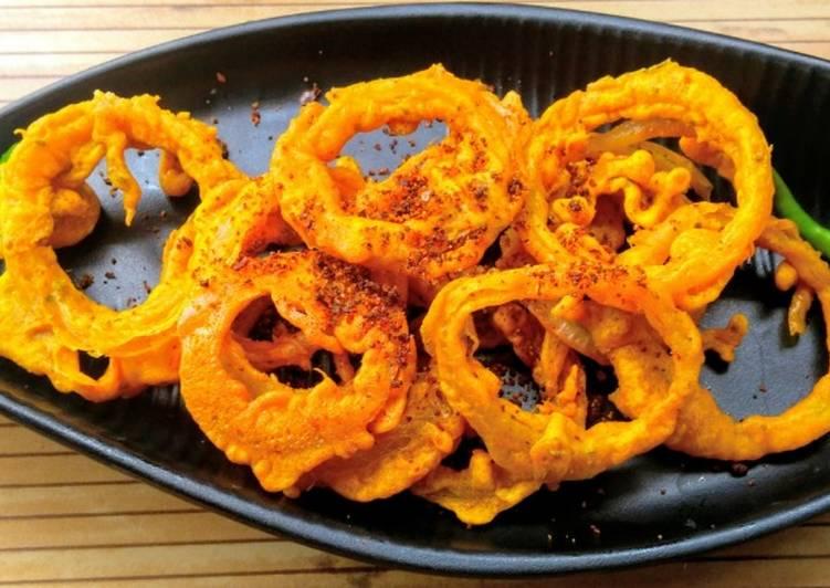 Easiest Recipe: Appetizing Onion Ring Pakoda