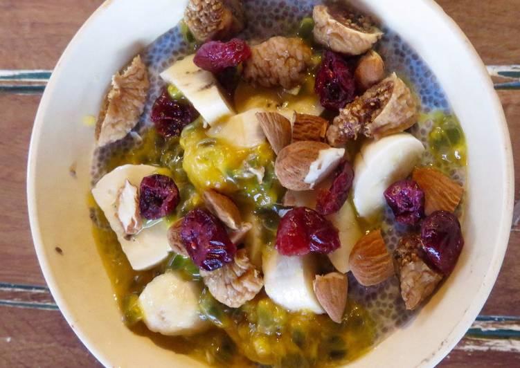 Recette: Savoureux Pudding de Chia aux fruits