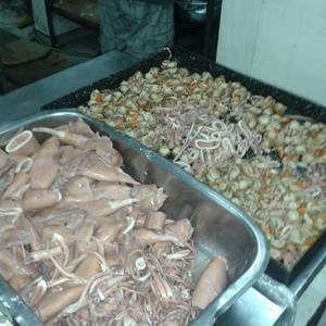 Mariscos para paellas y otros platos con mariscos