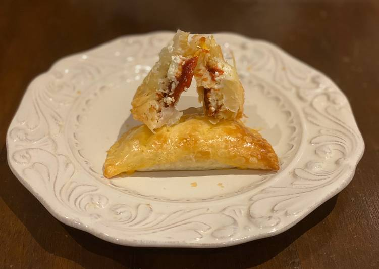 Empanadas de guayaba y queso