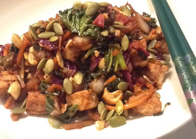 Asian Stir-fry (veg and meat recipes)
