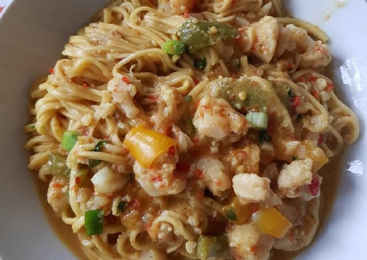 Vegetable Thai noodles