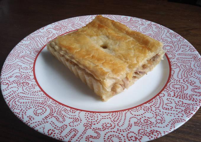 Pie de poulet (tourte au poulet)