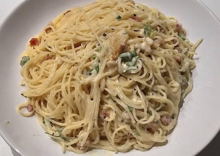 Recipe: Perfect Carbonara