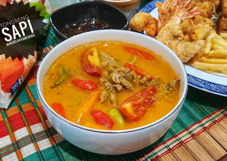 Tongseng sapi tanpa santan - cookandrecipe.com