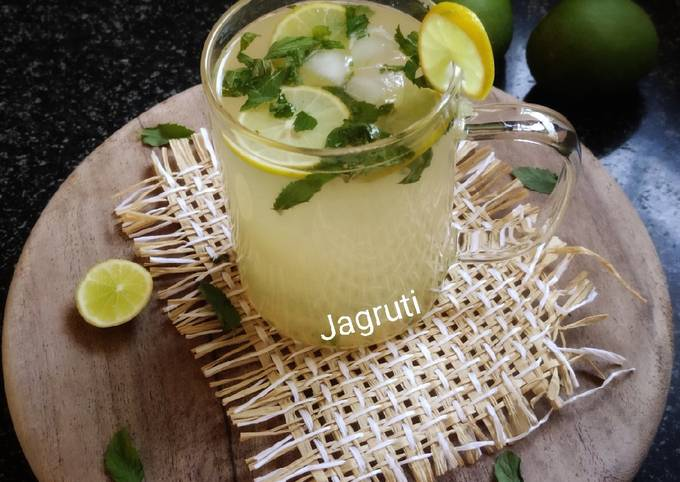 Raw Mango(Aam Panna) Virgin Mojito !! (Immunity Booster Drink)