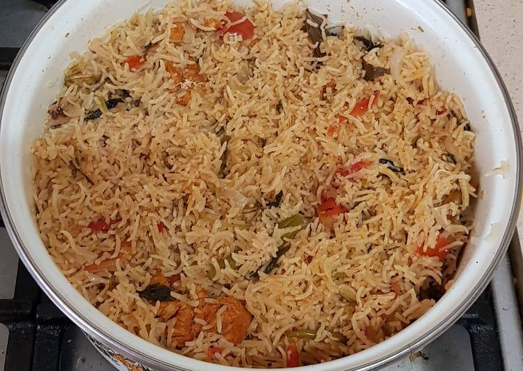 15 Minute Recipe of Quick Mughal dum biriyani