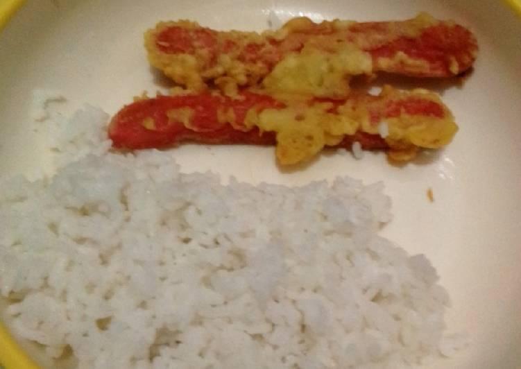 Sosis terong tepung