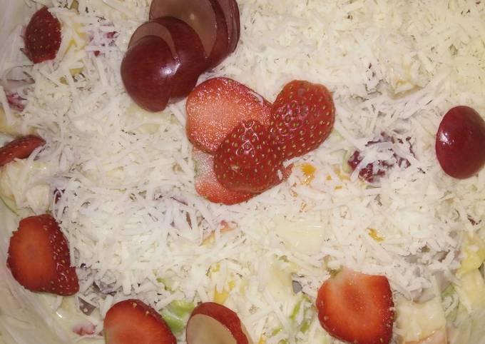 Salad buah ala catering 😋