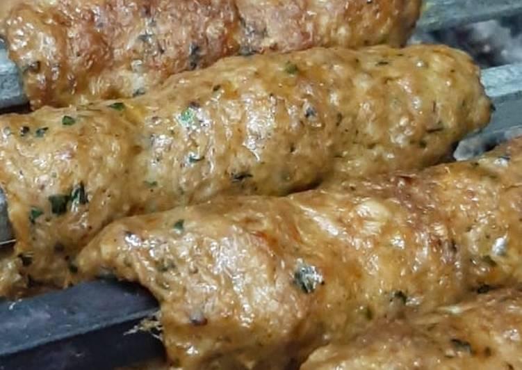 15 Minute Recipe of Diet Perfect Beef Seekh Kabab