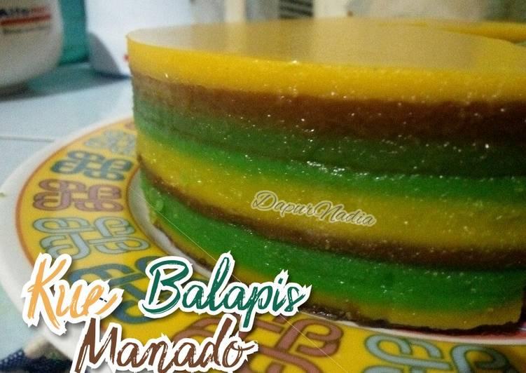 Kue Balapis khas Manado