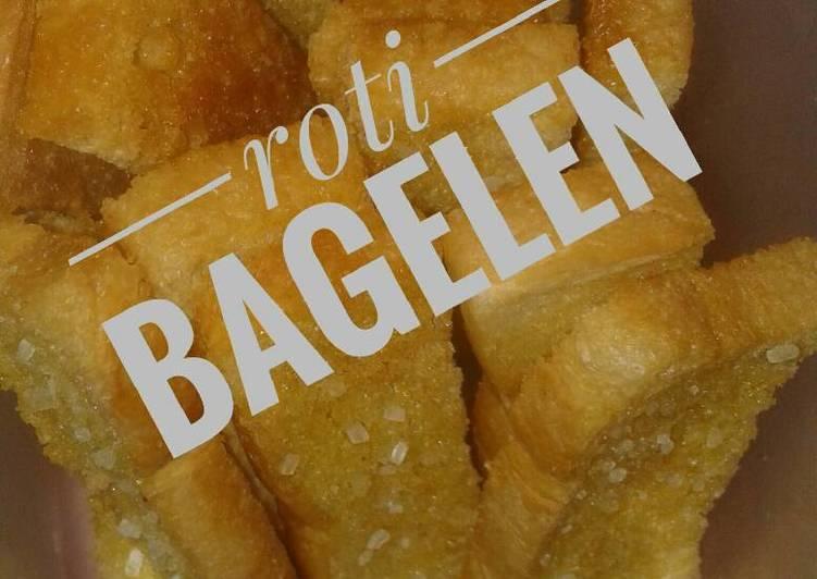 Roti kering/roti bagelen camilan 14m