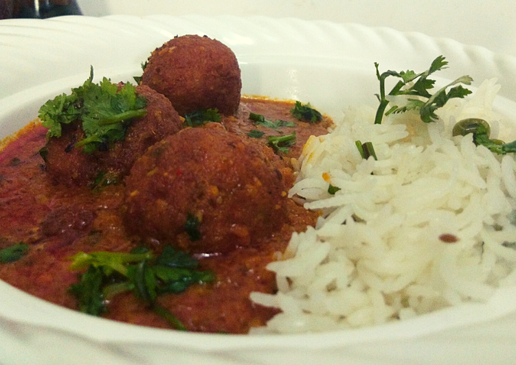 Simple Way to Prepare Super Quick Homemade Cauliflower kofta curry