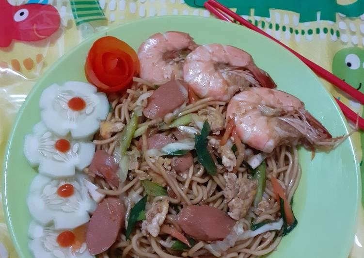 Resep Mie goreng anak rumahan Bikin Laper