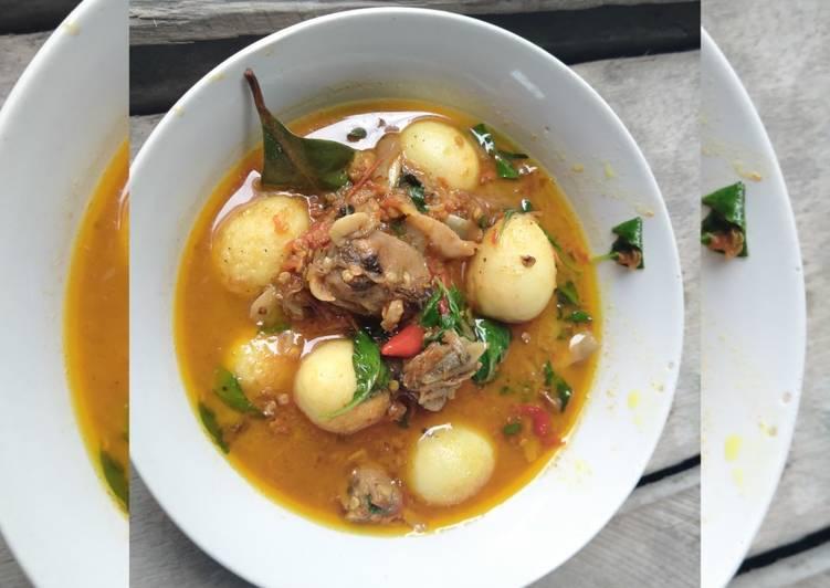 Sambal Telur Puyuh Kerang Dara masak kemangi