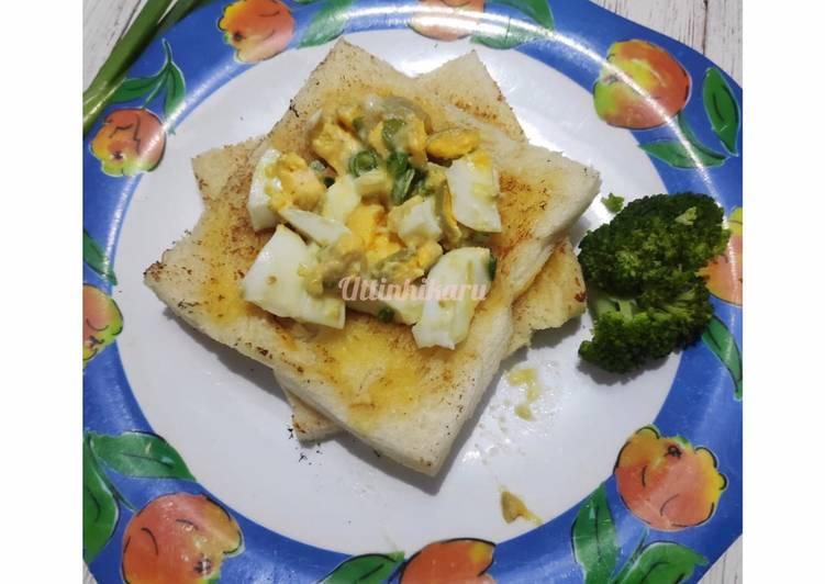 Keto Sandwich Telur Rebus #AntiRibet #cookpad_ketopad #ketopadtelurrebus