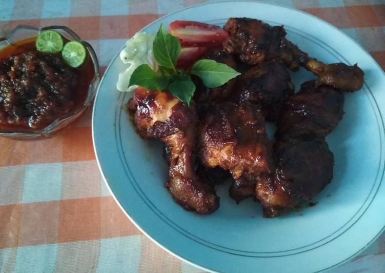 14 Resep: Ayam bakar bumbu sate , Menggugah Selera