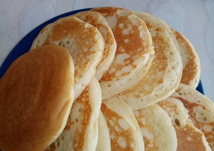 Recette Parfait Les pancakes