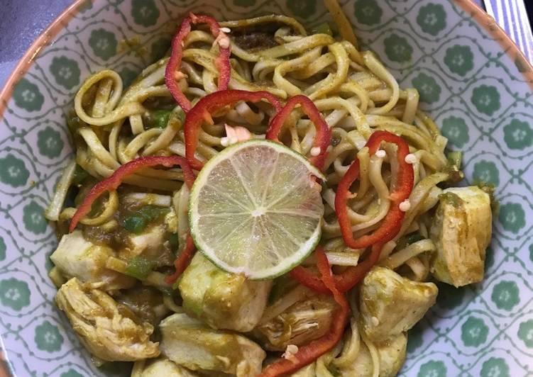 10 minute Katsu noodles