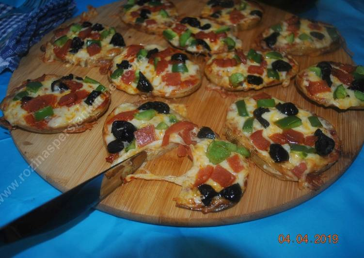 How to Prepare Appetizing Potato pizza  پتیزا سیب زمینی