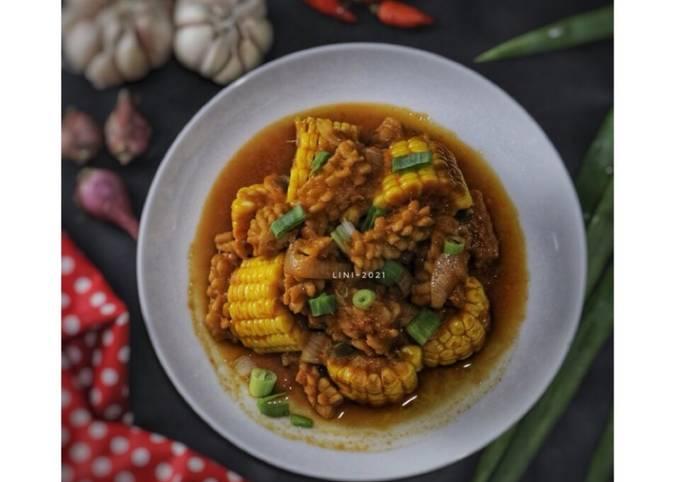 Cumi Saos Padang - olahan cumi - seafood menu - projectfootsteps.org