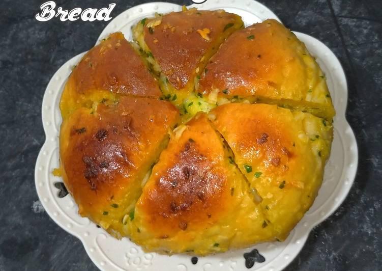 Giant Korean Creamcheese Garlic Bread