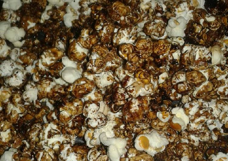Steps to Prepare Perfect Flavoured popcorn #local dish challenge