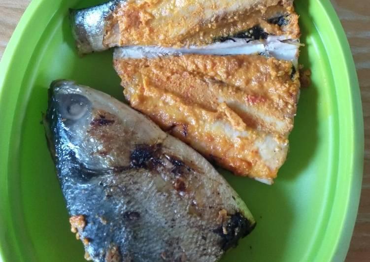 Ikan Bandeng Bakar Bumbu Merah