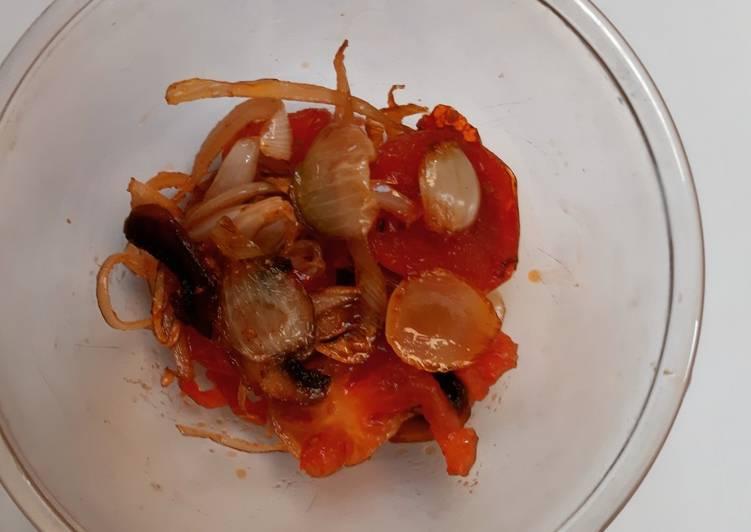 Fried Veggies For Sauce Base