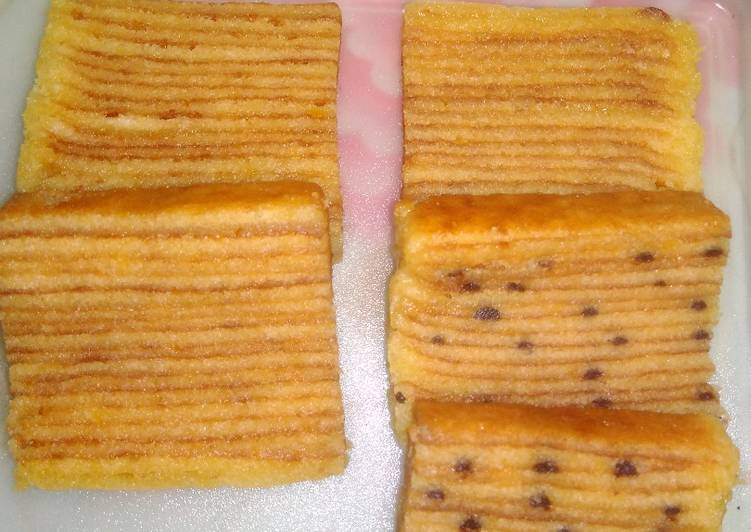 Kue lapis legit dan cantik manis bangka - cookandrecipe.com