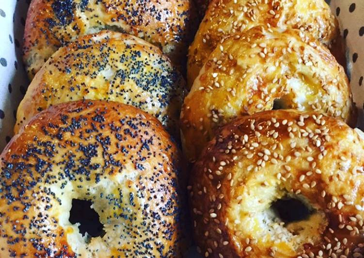 Pain bagels au thermomix