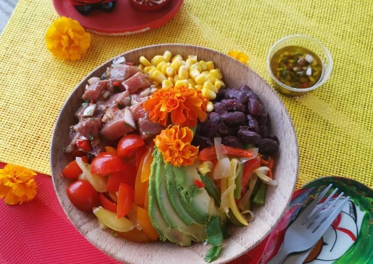Comment Faire Des Poke bowl mexicain