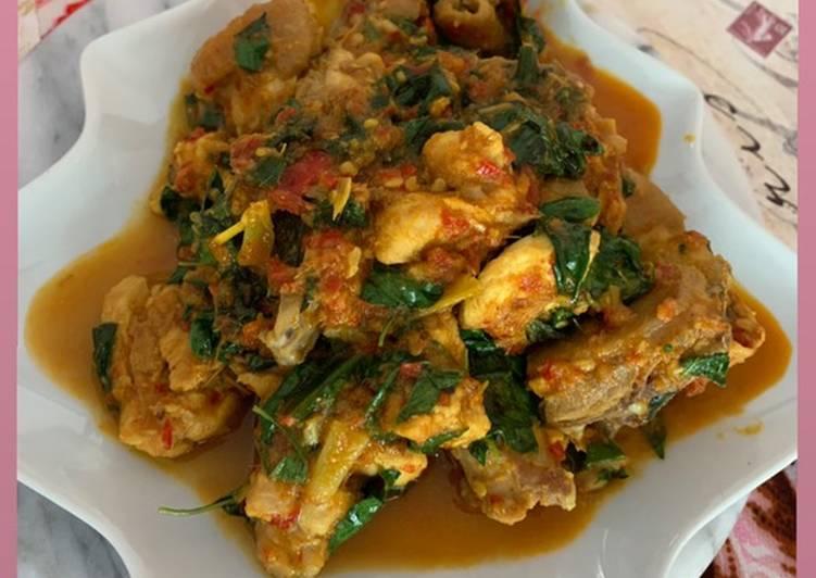 Ayam Woku gampang tapi enak