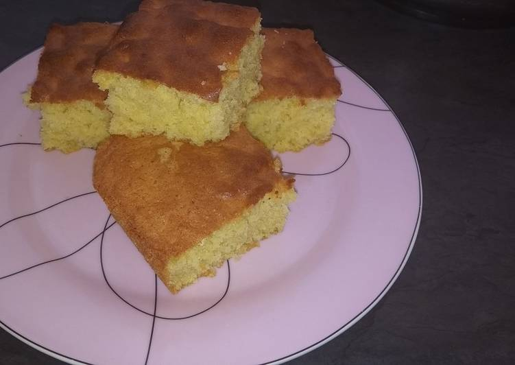 Simple Way to Make Top-Rated Fluffy sponge cake