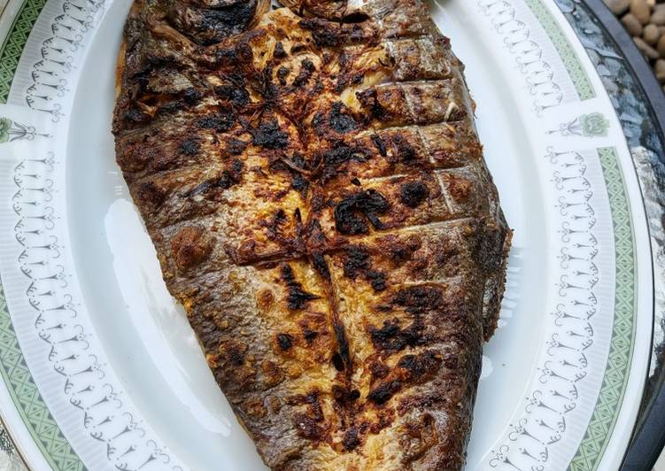 Ikan Bakar Rica Bawang