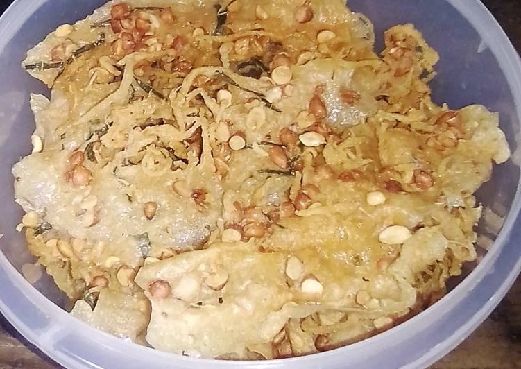 Peyek Kacang Tanah Renyah Sangat No Telur No Santan No MSG