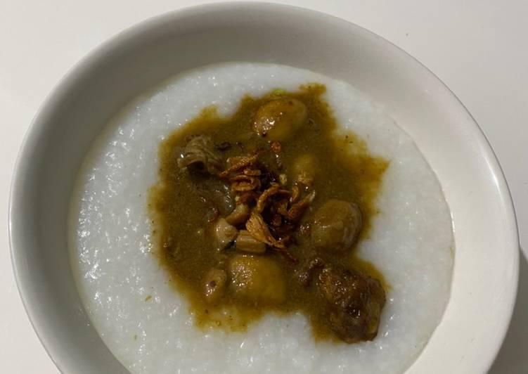 Resep BuYamGet (Bubur Ayam Kaget) Anti Gagal