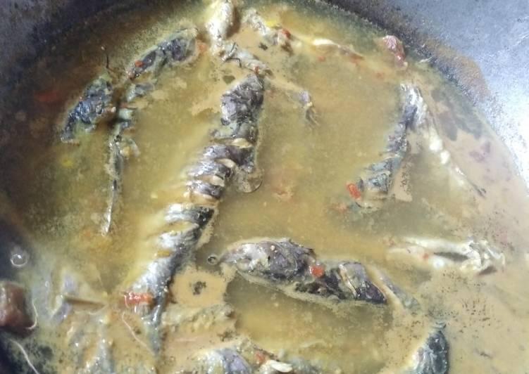 Sayur merica ikan lundu