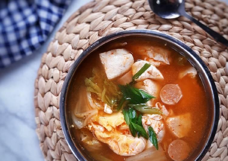 Sundubu Jjigae (sup tahu pedas)