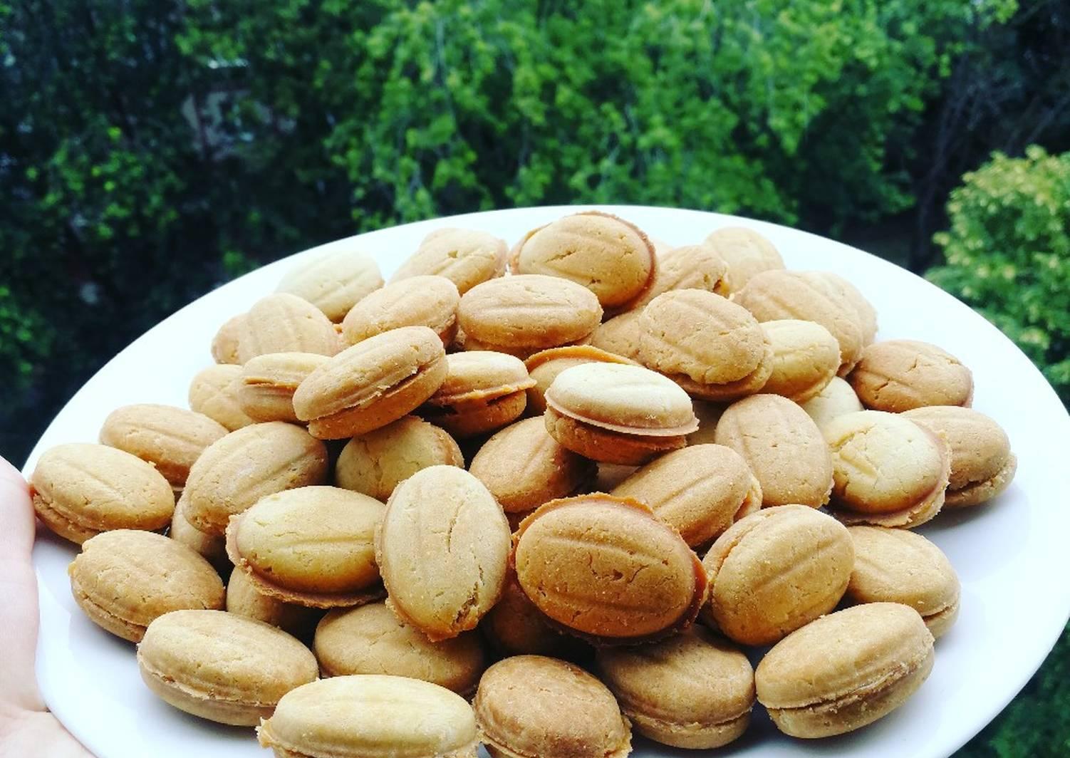 Орешки со сгущенкой пошаговый рецепт с фото