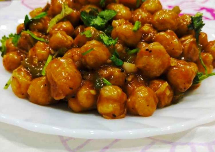 How to Prepare Super Quick Homemade Chana chilli