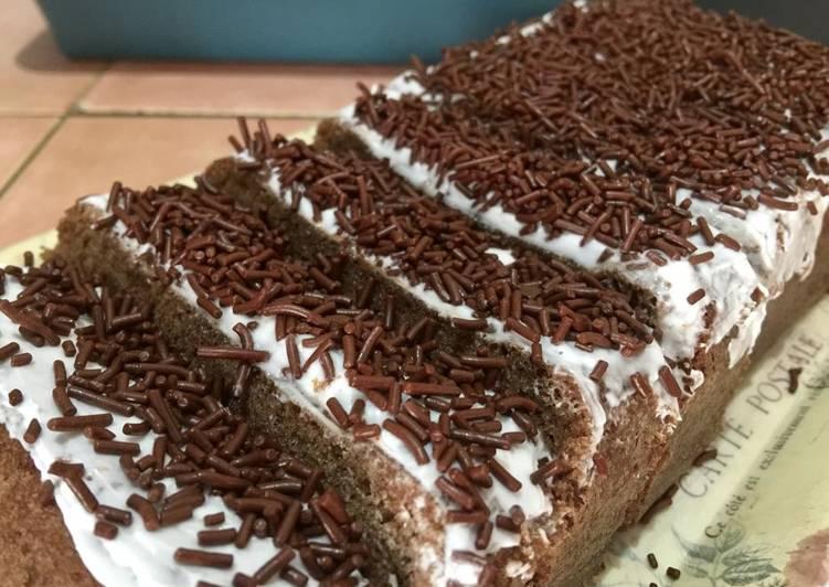 Resep Brownies coklat Bengbeng Anti Gagal