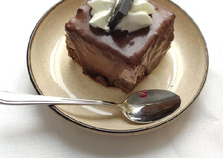 "Easiest Way to Prepare Favorite ""Amandine"" Chocolate sponge cake"