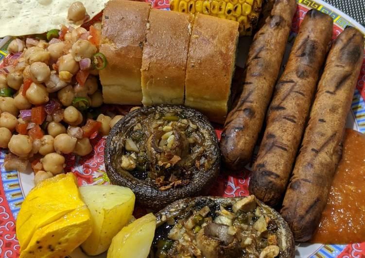 Recipe: Tasty Vegetarian BBQ